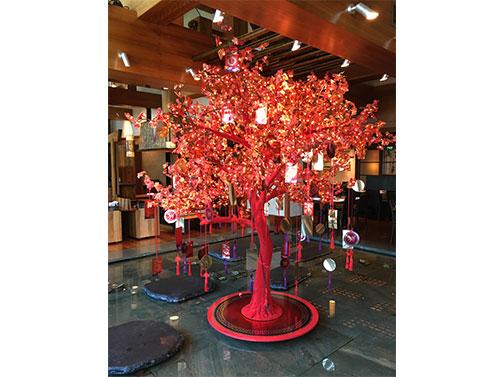 Flocked Trees Crown Pic 1