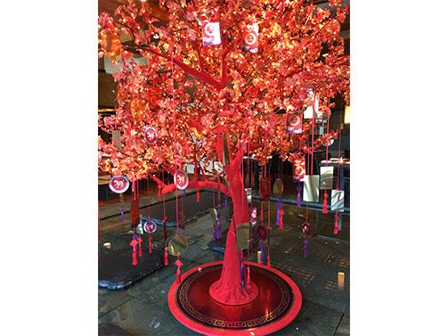 Flocked Trees Crown Pic 2